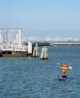 McCovey Cove at AT&T Park