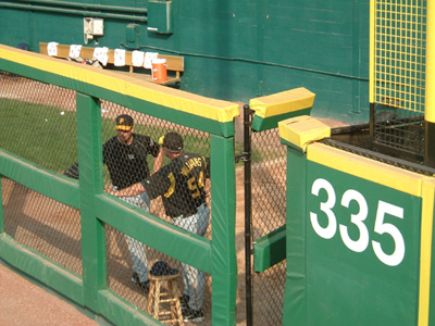 Visitor's Bullpen at RFK Stadium