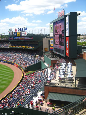 The Turner Field Videoboard
