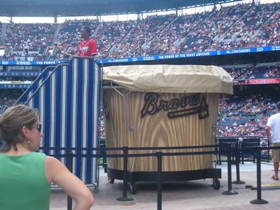 The Drum at Turner Field